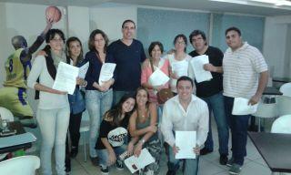 Foto grupal del curso